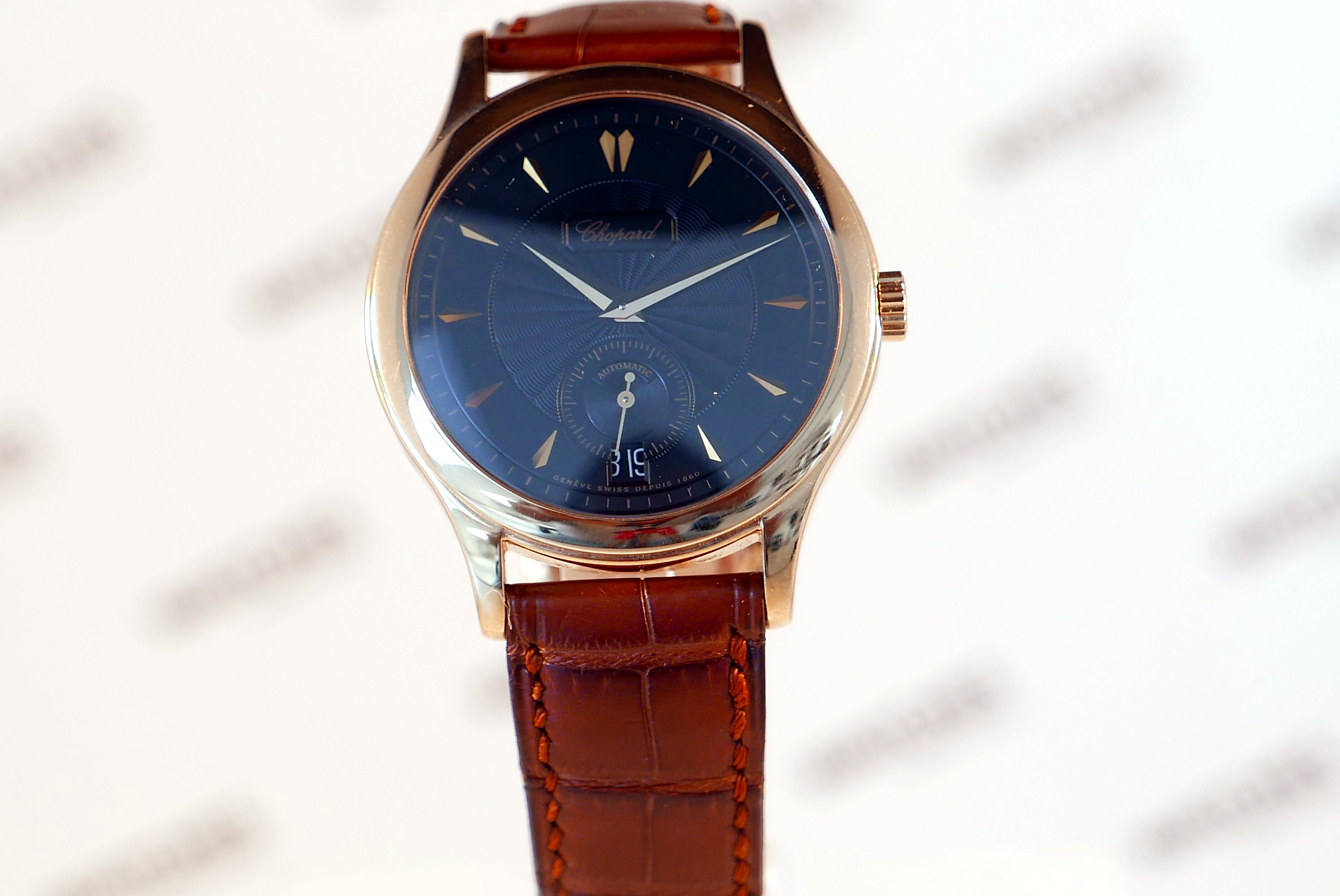 buy chopard pink gold white gold watches in dubai uk